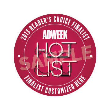 2013 Adweek Hot List Reader's Choice Finalists - Print