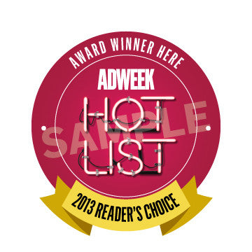 2013 Adweek Hot List Reader's Choice Winners