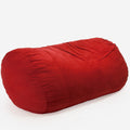 Wanda Traditional 8 Foot Suede Bean Bag (Cover Only)
