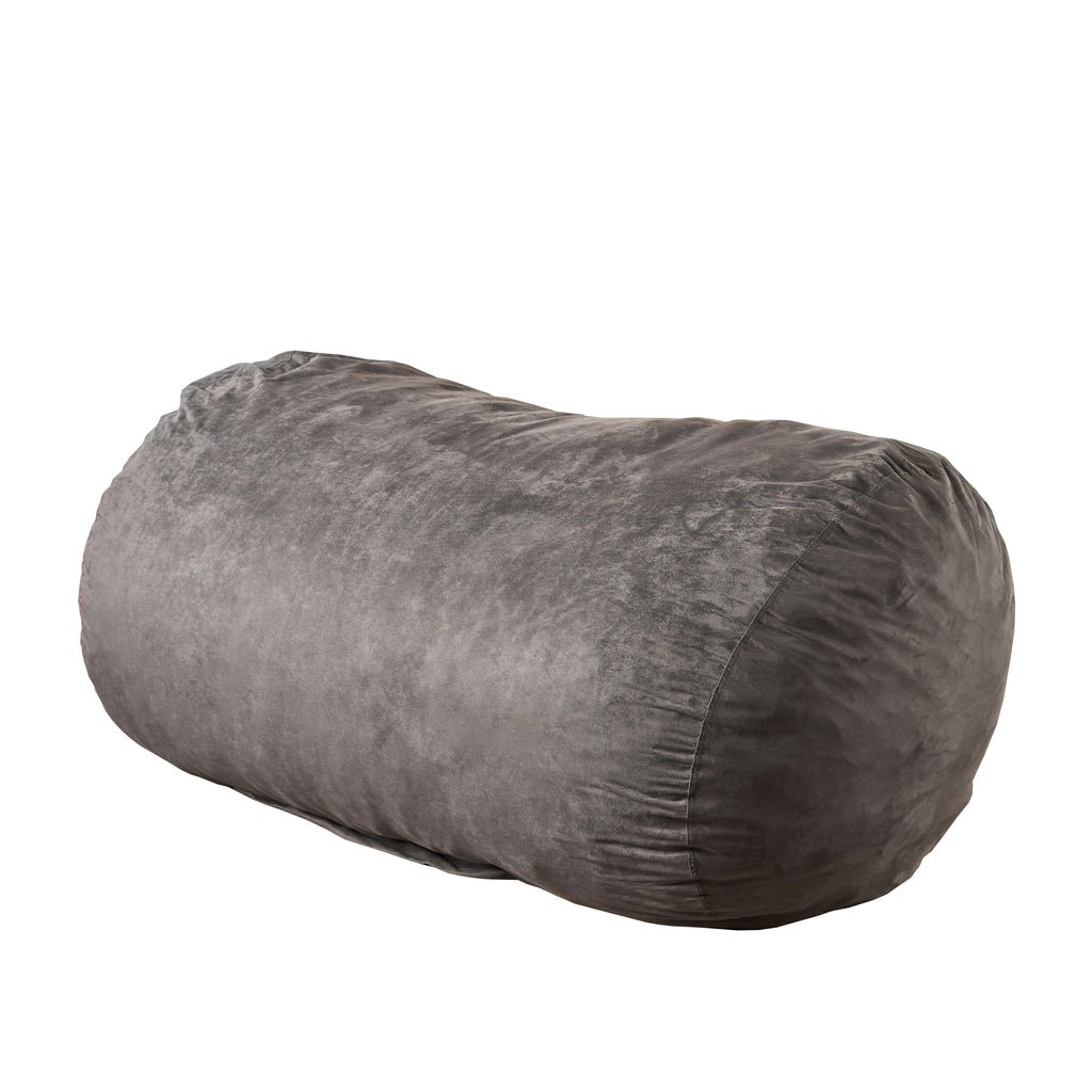 Flora Traditional 6.5 Foot Suede Bean Bag (Cover Only)