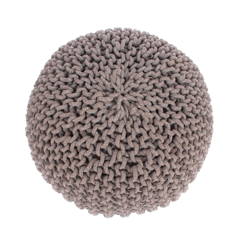 Poona Modern Cotton Pouf