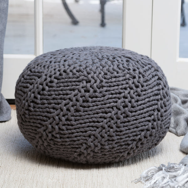Hazel Indoor/Outdoor Pouf