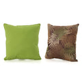 Corona Outdoor Square Water Resistant Pillow Set