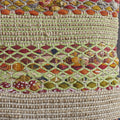 Layson Multi Colored Recycled Cotton Pillow