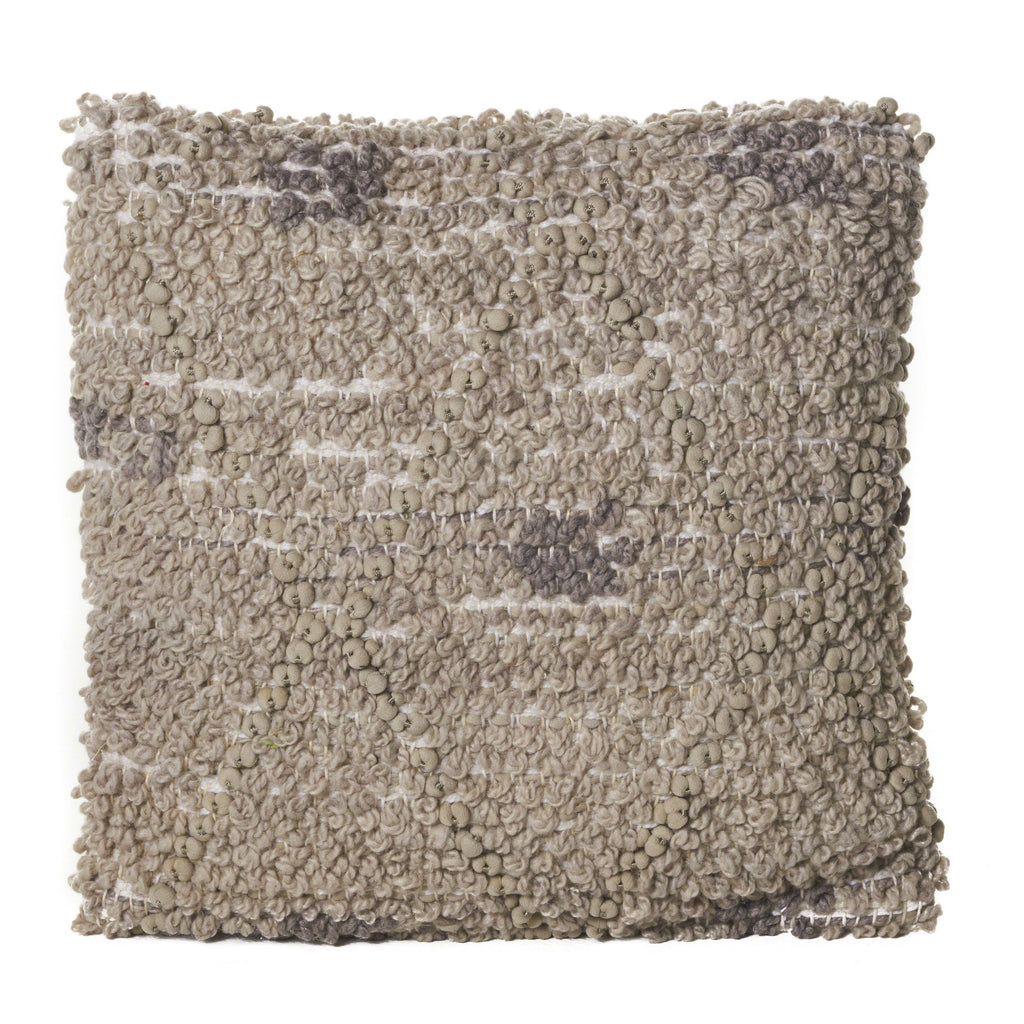 Roxanne Grey Polyester Pillow
