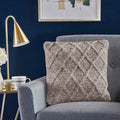 Lamus Grey Wool Pillow