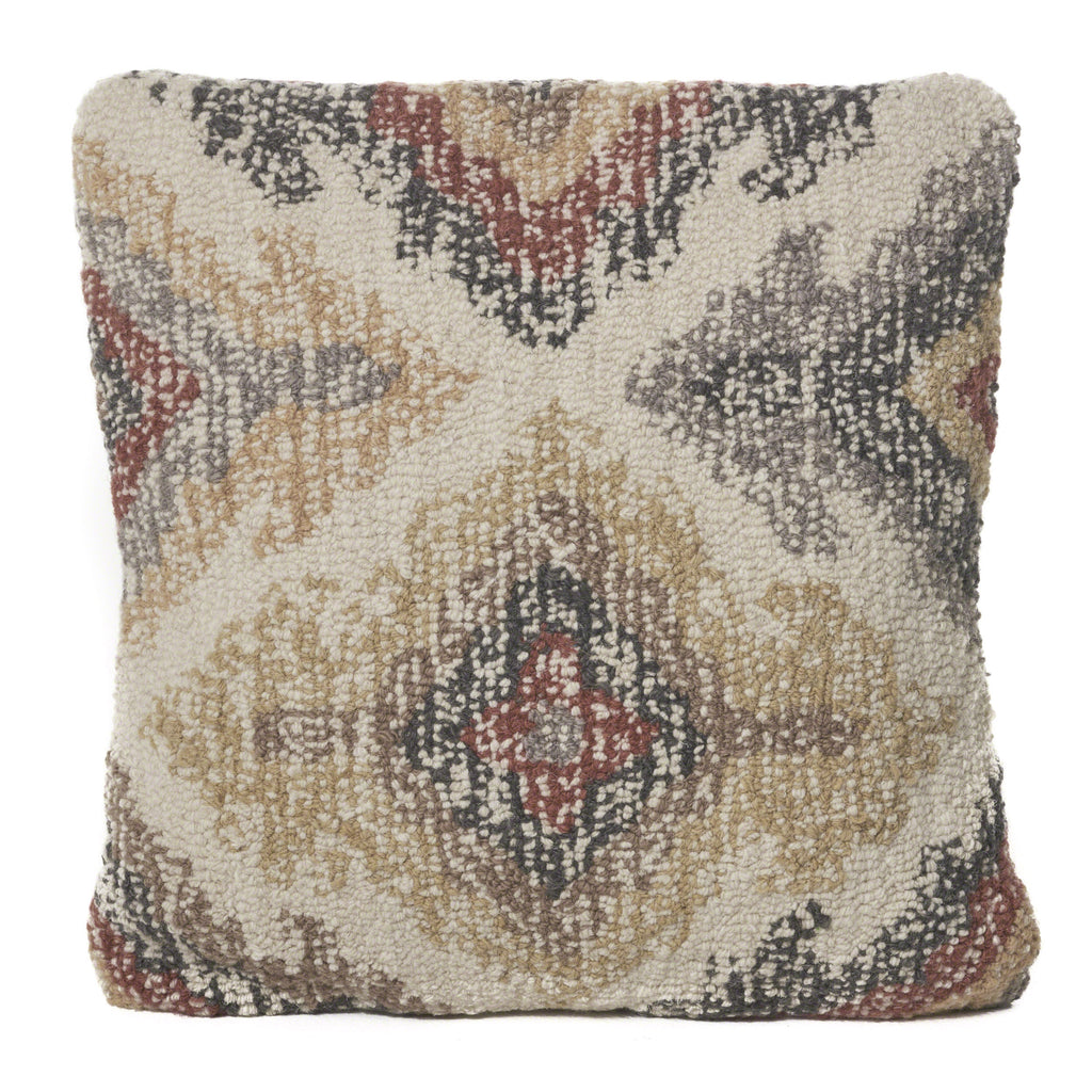 Parinas Multi Colored Wool Pillow