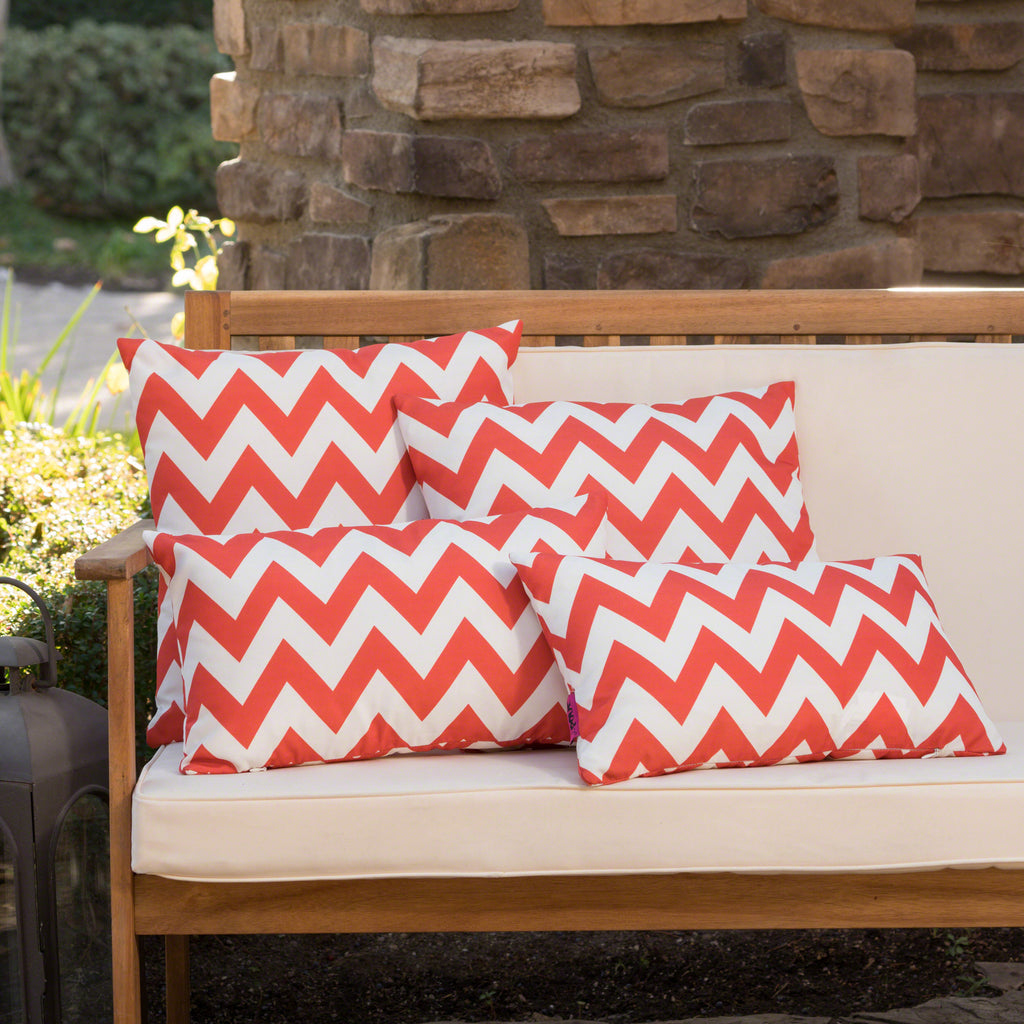 Awe Inspiring Embry Outdoor Water Resistant Square And Rectangular Throw Pillows Set Of 4 Ocoug Best Dining Table And Chair Ideas Images Ocougorg