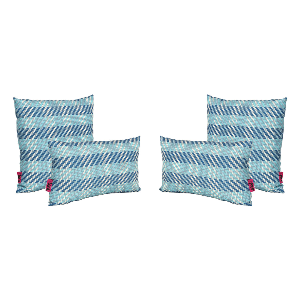 Marquis Outdoor Water Resistant Square and Rectangular Throw Pillows (Set of 4)