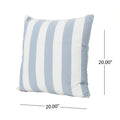 Mireille Striped 20 x 20 Throw Pillow