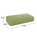 Judith Indoor Water Resistant 6'x3' Lounger Bean Bag