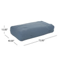 Vivien Outdoor Water Resistant 6'x3' Lounger Bean Bag