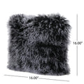Copy of Zally Shaggy Lamb Fur Square 16 x 16 Pillow