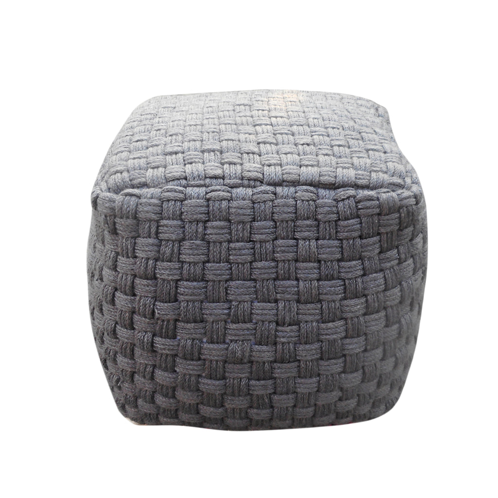 Calero Outdoor/Indoor Modern Boho Pouf