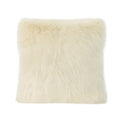 Laraine Glam Faux Fur Throw Pillow