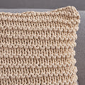 Tate Knitted Cotton Pillow