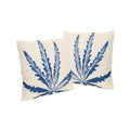 "Stella Outdoor 18"" Water Resistant Square Pillows (Set of 2)"