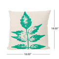"Irene Outdoor 18"" Water Resistant Square Pillows (Set of 2)"