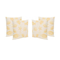 "Andria Outdoor 18"" Water Resistant Square Pillows (Set of 4)"