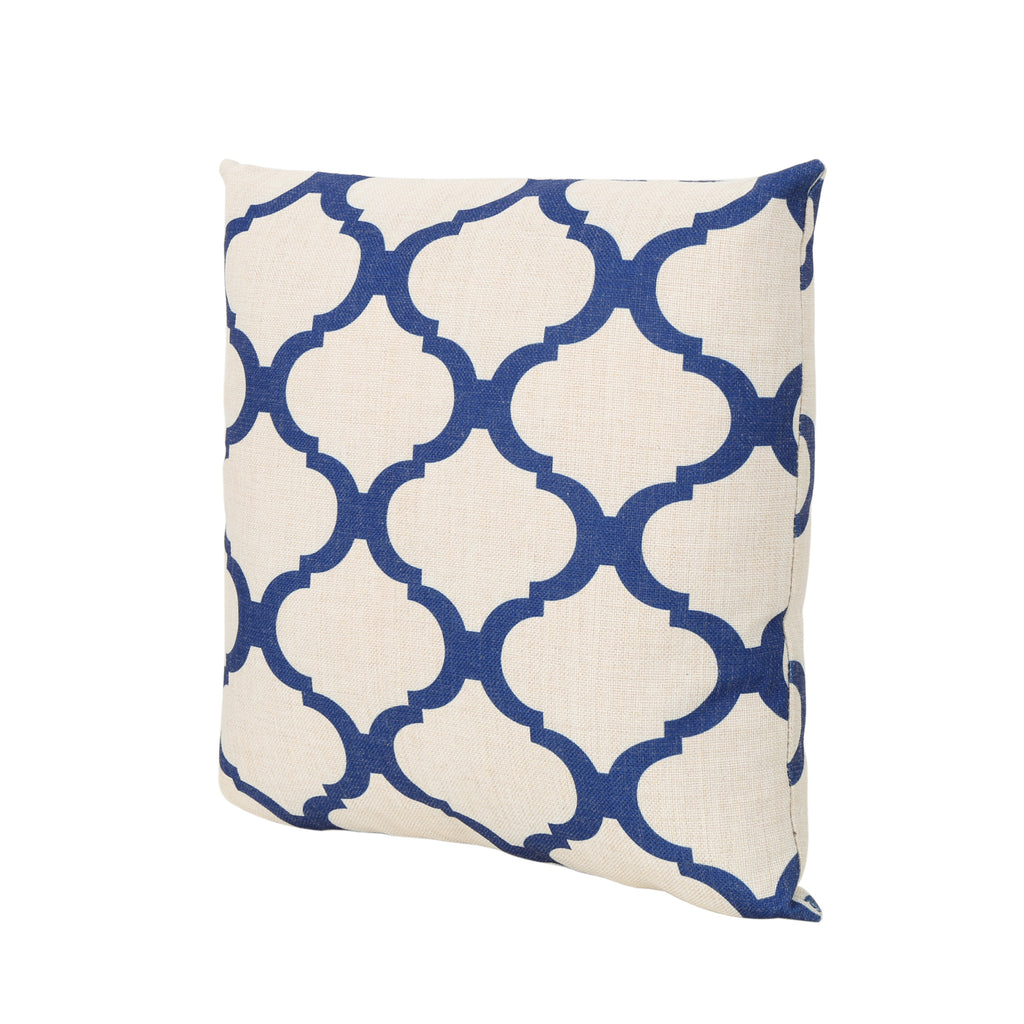 "Oscar Outdoor Water Resistant 18"" Square Pillow"