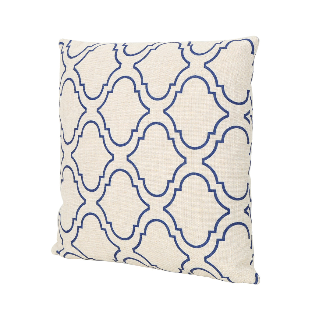 "Zora Outdoor Water Resistant 18"" Square Pillow"