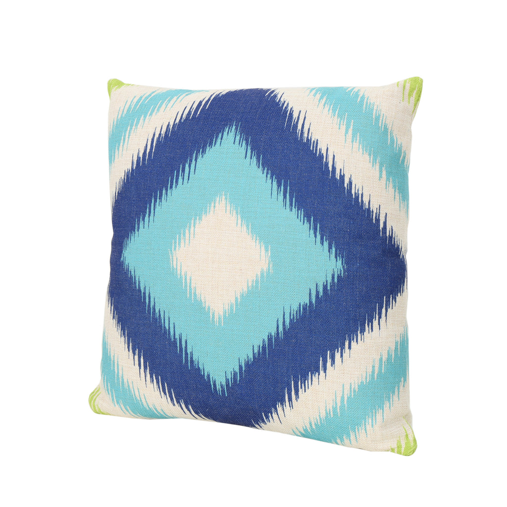 "Willy Outdoor Water Resistant 18"" Square Pillow"