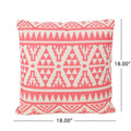 "Linda Outdoor Water Resistant 18"" Square Pillow"