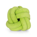 Estelle Modern Soft Velvet Clove Hitch Knot Pillow