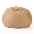 Selena Traditional 5 Foot Suede Bean Bag (Cover Only)