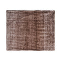 Tammy Faux Fur Throw Blanket, Light Brown