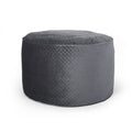 Denise Glam 4 Foot Velvet Quilt Patterned Beanbag
