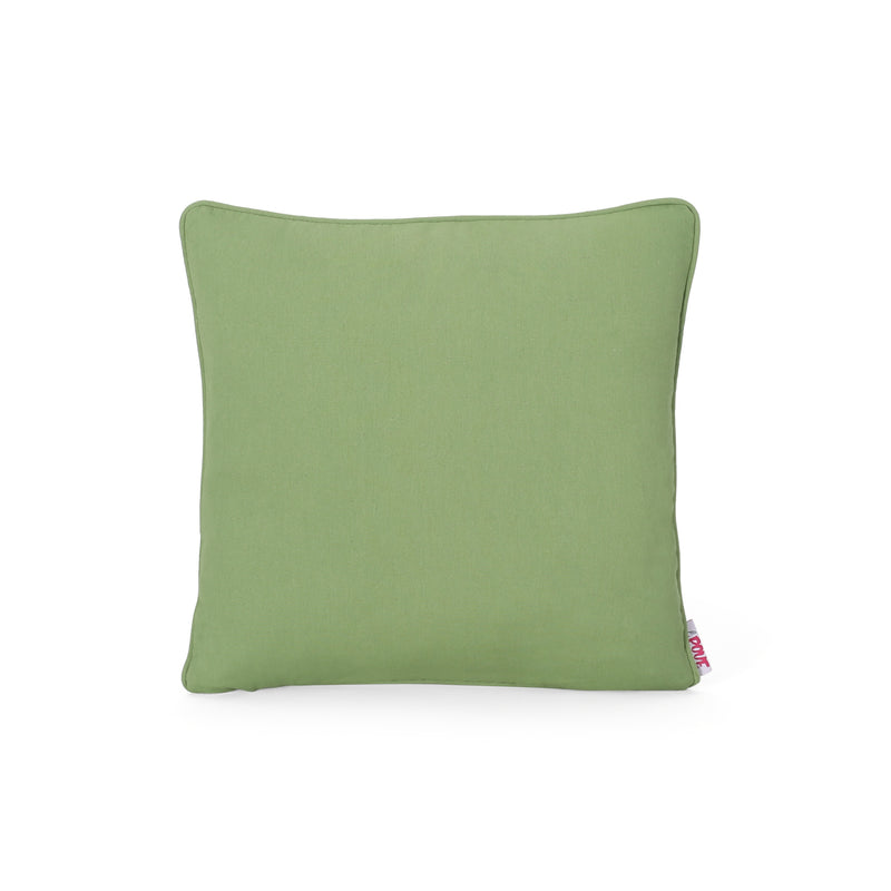 Sabrina Modern Fabric Throw Pillow Cover, Multicolor Print