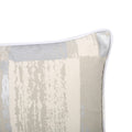 Flower Modern Fabric Throw Pillow Cover, Silver