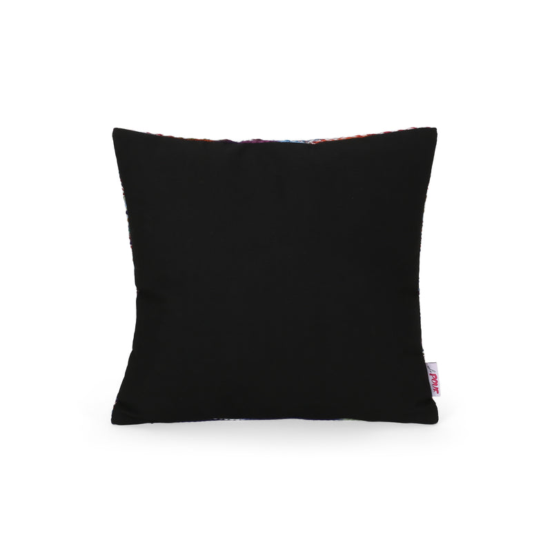 Jodie Modern Fabric Throw Pillow Cover, Multicolor