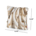 Alice Glam Fur Pillow Cover (No Filling Included) (Set of 2)