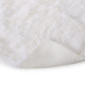 Lauren Glam Fur Throw Blanket