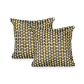 Claudia Boho Cotton Throw Pillow (Set of 2), Black and White