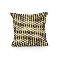Cindy Boho Cotton Pillow Cover, Black and White