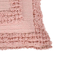 Deborah Boho Cotton Pillow Cover (Set of 2), Pink