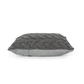 Selina Boho Cotton Throw Pillow (Set of 2), Gray