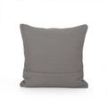 Scalett Boho Cotton Pillow Cover, Gray