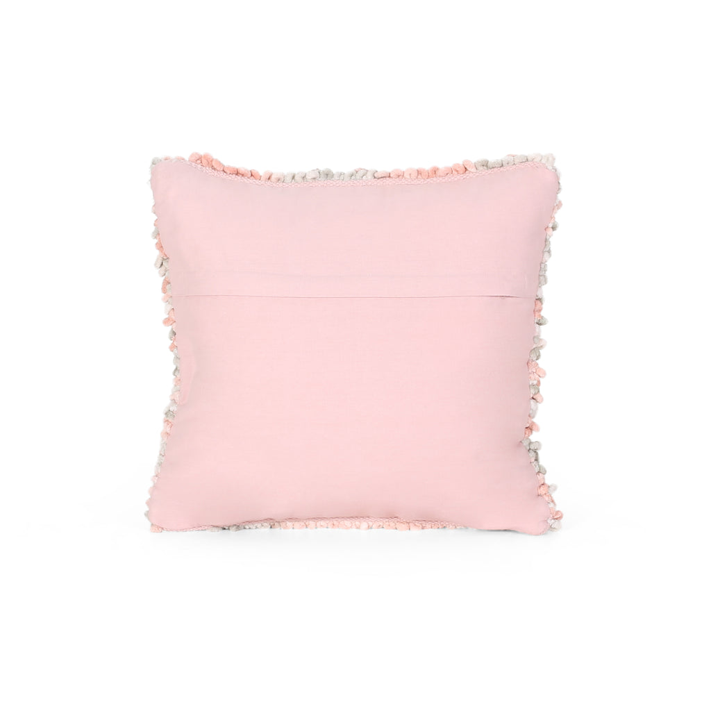 Wendy Boho Fabric Pillow Cover, Multicolor