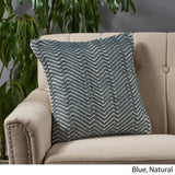 Sandy Boho Cotton Throw Pillow