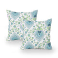 Camille Modern Throw Pillow Cover (Set of 2), Multicolor Print