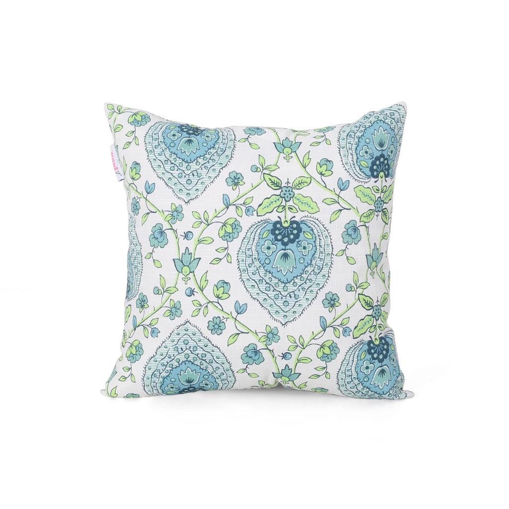 Candice Modern Throw Pillow, Multicolor Print
