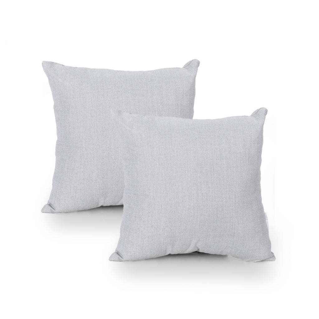 Charlene Modern Throw Pillow Cover (Set of 2), Beige