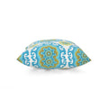 Angelia Outdoor Modern Square Water Resistant Fabric Pillow (Set of 2), Multicolor Print
