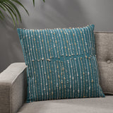 Dmya Cotton Throw Pillow
