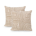 Nimrat Cotton Throw Pillow (Set of 2)