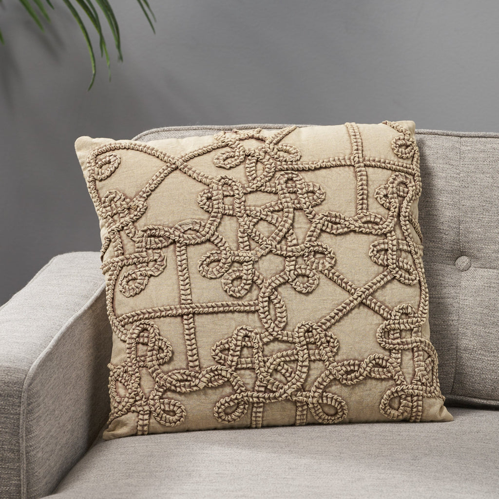 Breya Modern Cotton Pillow Cover